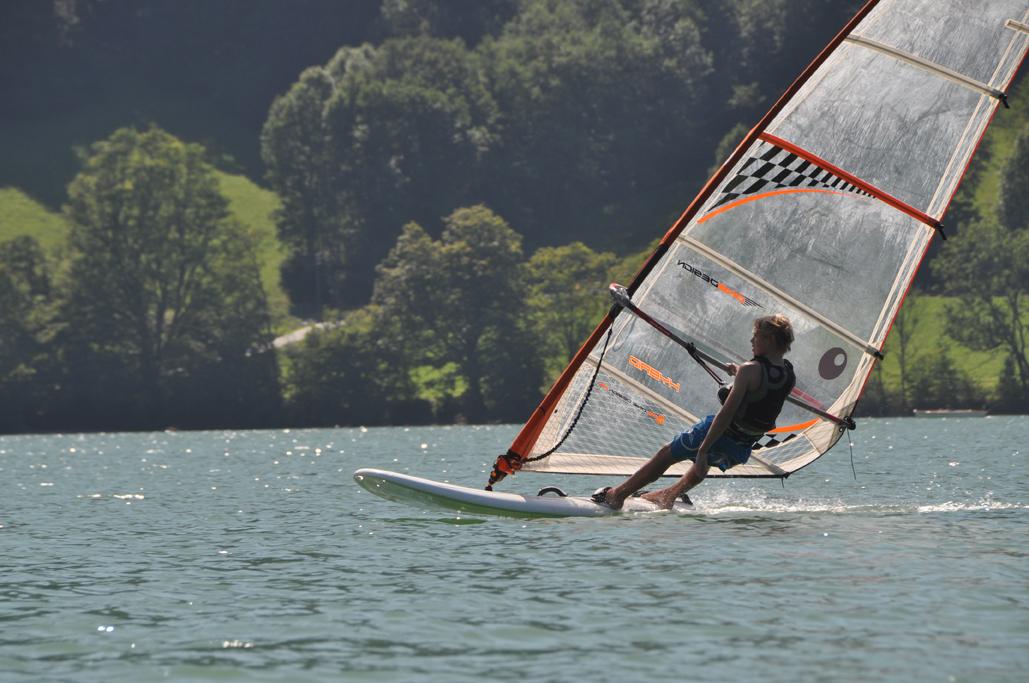 Windsurfen lernen Schliersee